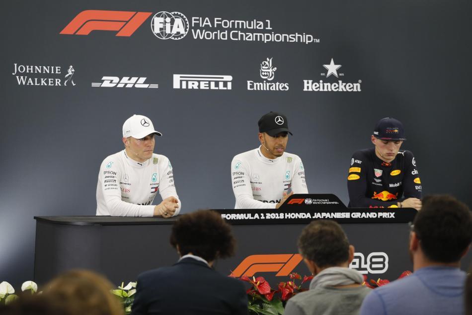 F1 - 2018 Japanese Grand Prix Saturday Press Conference Transcript ...