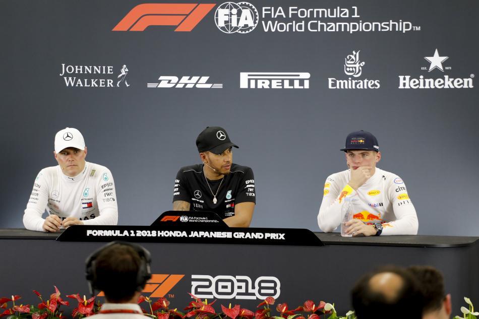F1 - 2018 Japanese Grand Prix Sunday Press Conference Transcript ...