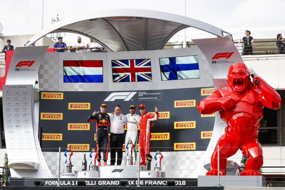 F1 - 2018 French Grand Prix Sunday Post-Race Press Conference ...