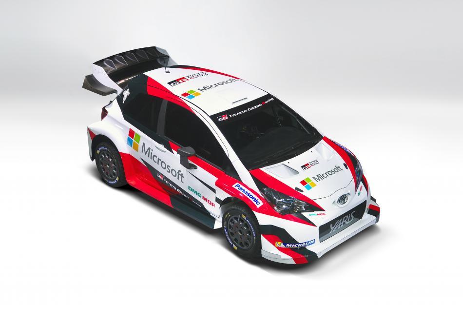 Wrc Toyota Reveals The 2017 Yaris Wrc Test Car Federation