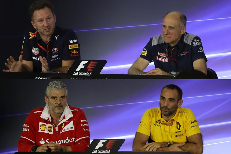 Friday Press COnference Mexican GP 2017