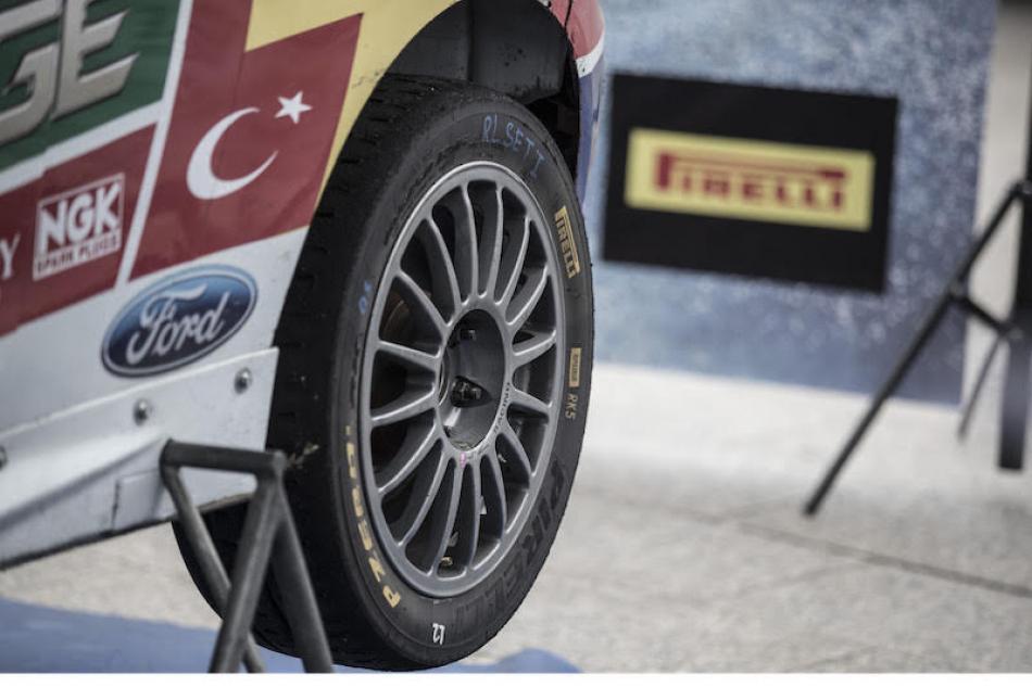 ERC Pirelli tyre supplier