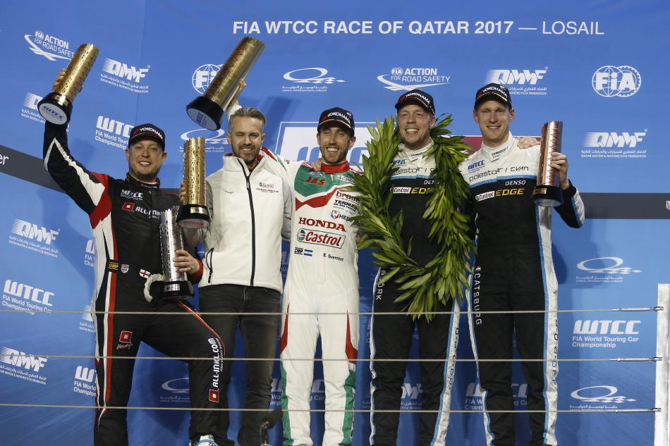 WTCC, Touring Car, Race of Qatar, FIA, Motorsport