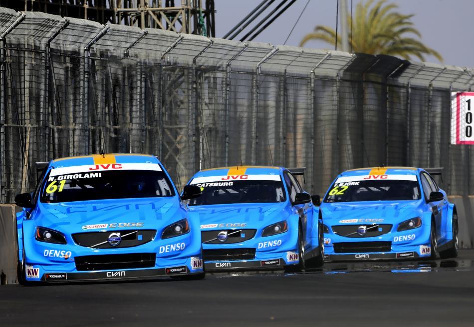 Wtcc Debut Delight Team Volvo Polestar Wins Wtcc Mac3