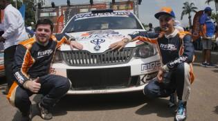 ARC - Bandama Rally - Event winners ARC - Bandama Rally - Event winners Manvir Baryan & Drew Sturrock