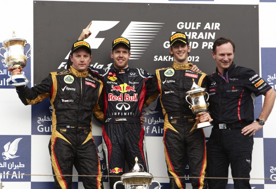 F1 2012 - Bahrain Grand Prix