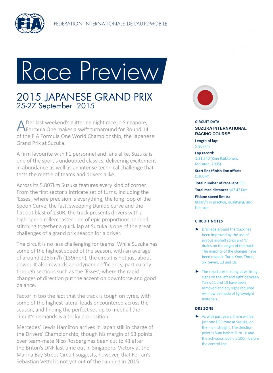 Japanese GP Preview