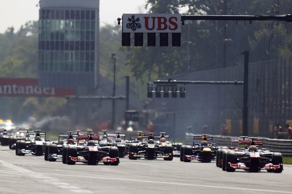 F1 2012 - Italian GP