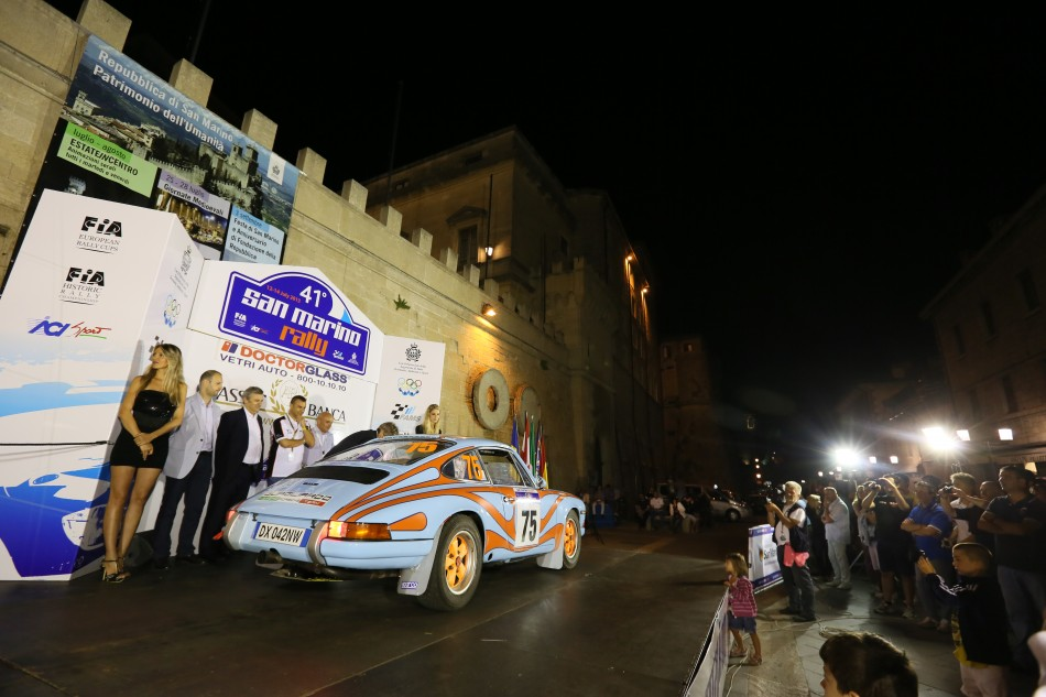 European Historic Rally Championship 2013 - San Marino