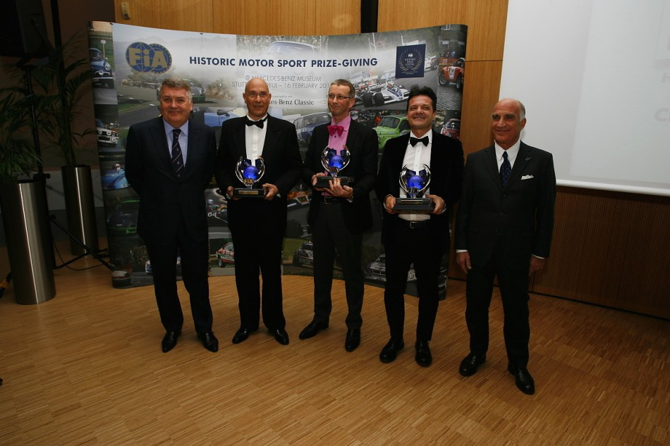 2012 FIA Historic Prize Giving