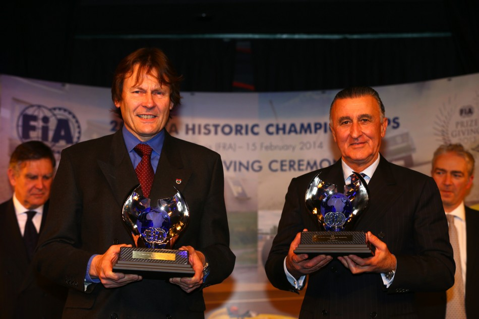 2013 FIA Historic Championships Ceremony