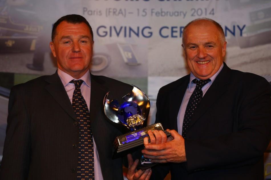 2013 FIA Historic Championships Ceremony