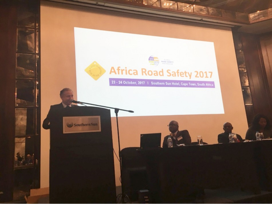 FIA, Road Safety, Jean Todt, Africa