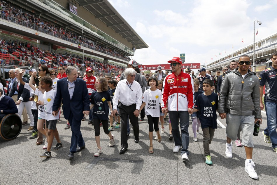 FIA and F1 Long Short Walk