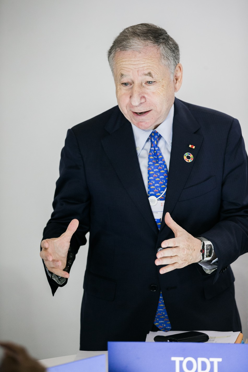 todt, wef, india, road safety