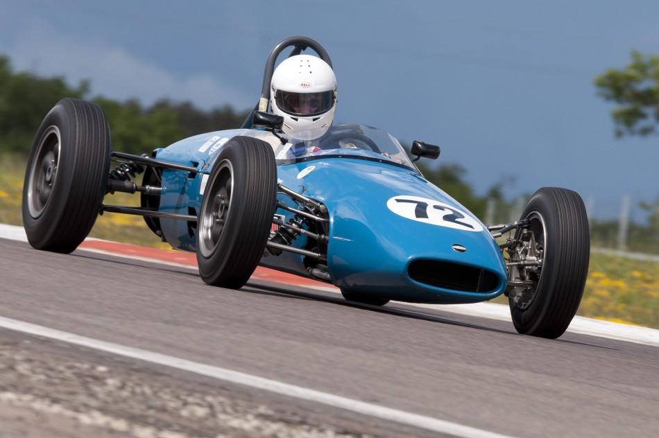 FIA Lurani Trophy for Formula Junior Cars - Dijon