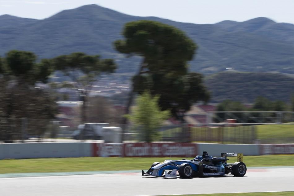 F3 European Championship 2013 - Barcelona Test