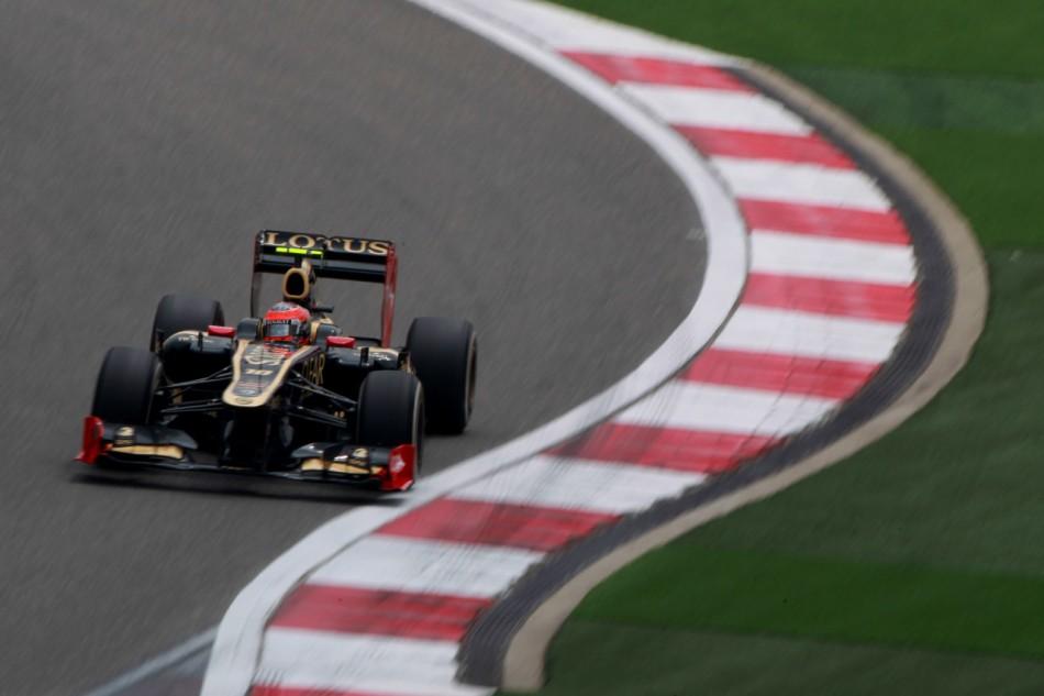 F1 2012 - Chinese Grand Prix