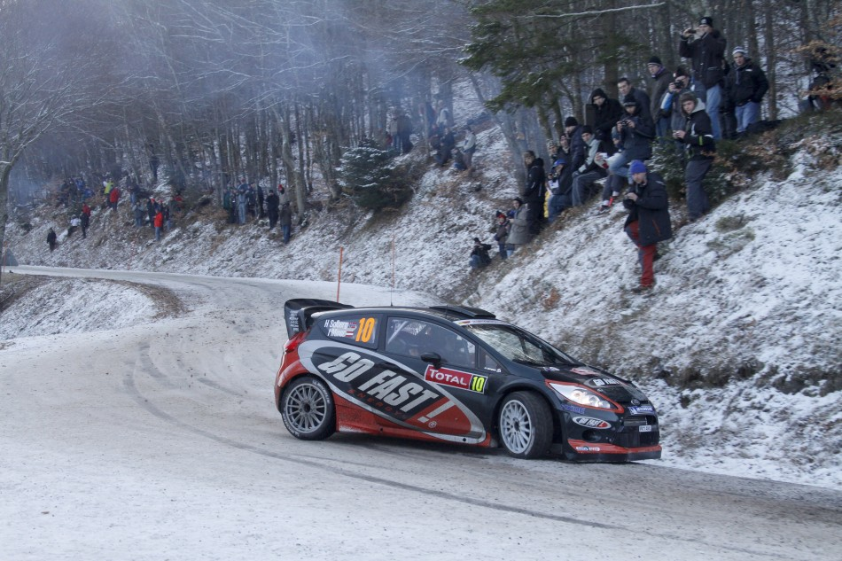 WRC 2012 - Rally Monte-Carlo