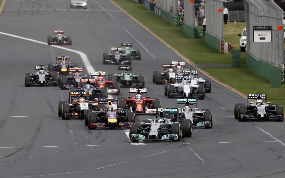 F1 2014 - Australian Grand Prix