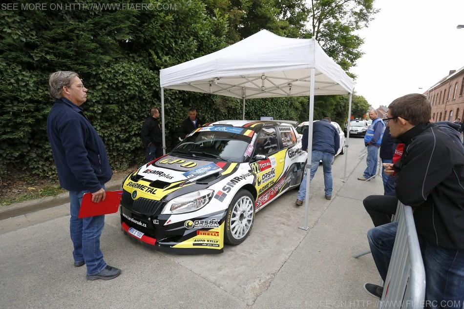 ERC 2014 - Geko Ypres Rally