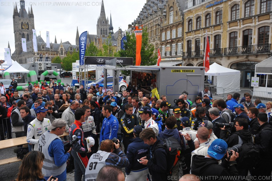 European Rally Championship - GEKO Ypres Rally