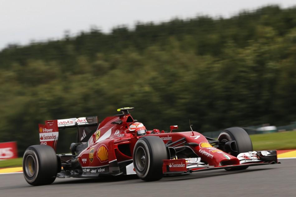 F1 2014 - Belgian Grand Prix Gallery