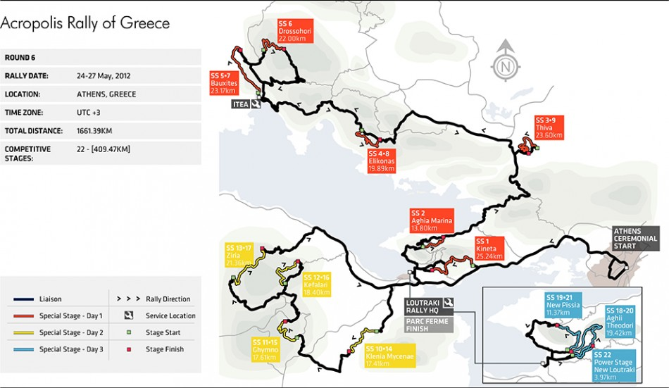 acropolis rally stage map federation internationale de l