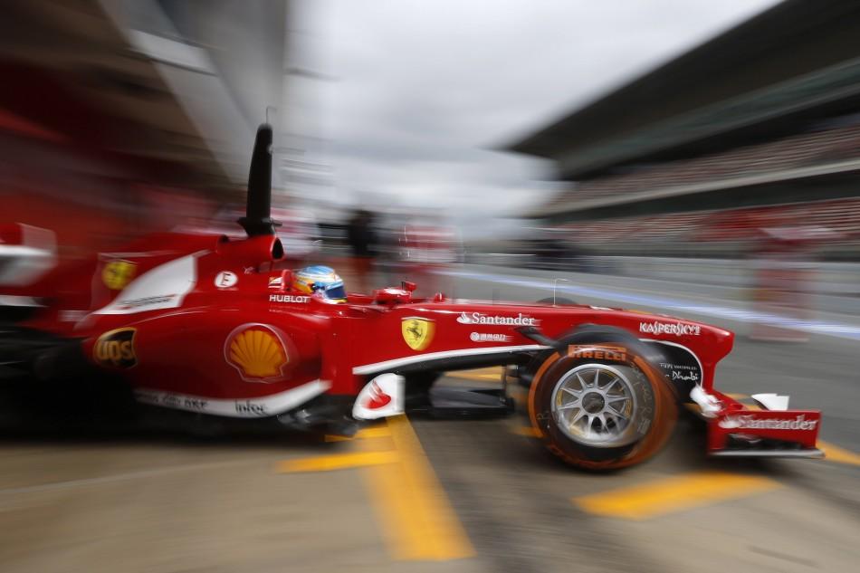 F1 2013 - Barcelona Test