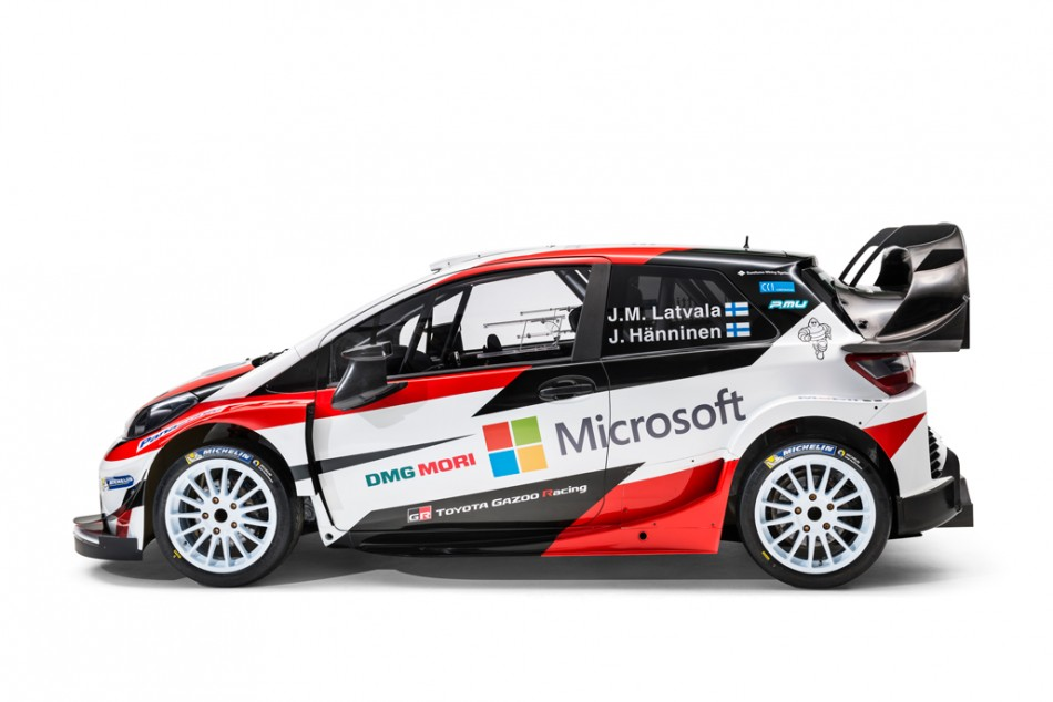 I cant wait to start our testing program together with Toyota Gazoo Racing and the Yaris WRC.\u201d