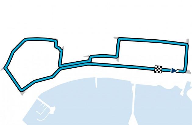 2016 Grand Prix of Europe - Circuit Map