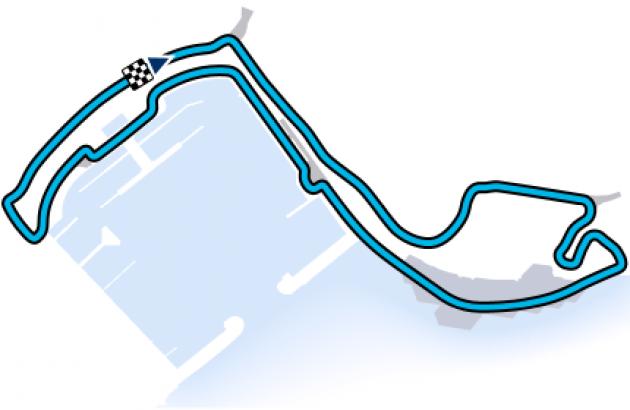 F1 Monaco Track