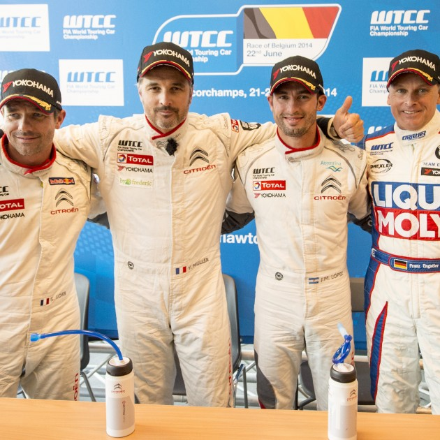 WTCC 2014 - Race of Belgium