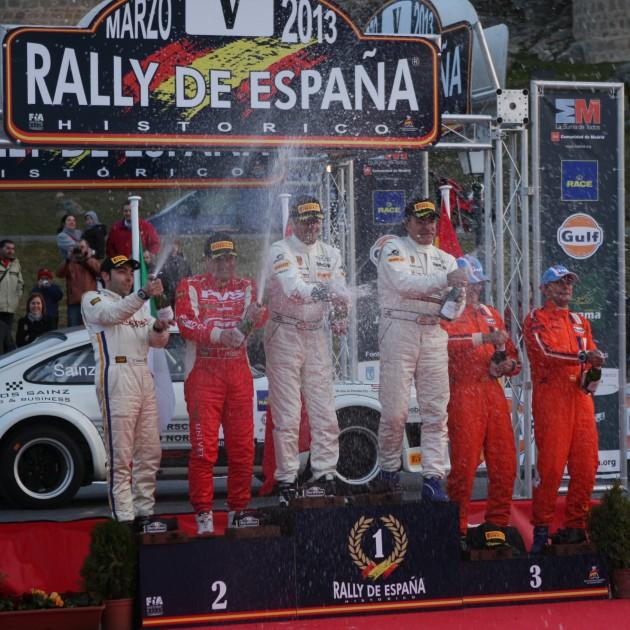 European Historic Rally Championship - 2013 Rally de Espana