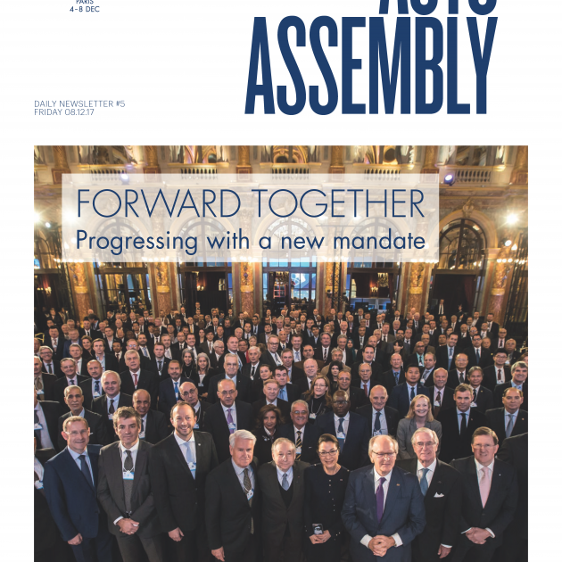 2017 FIA Annual General Assembly Day 5 Newsletter