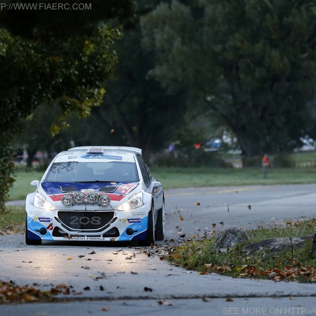 ERC 2014 - Rallye International du Valais