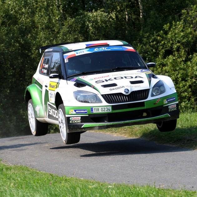 ERC 2013 - Barum Czech Rally Zlín