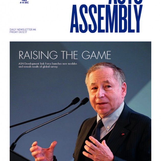 2017 FIA Annual General Assembly Day 4 Newsletter