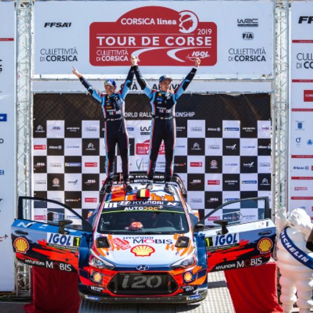 2019 Tour de Corse - Event winners T. Neuville / N. Gilsoul