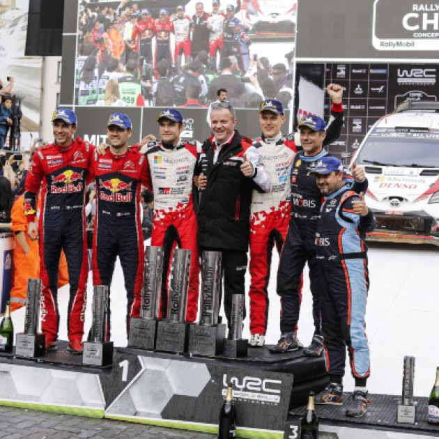 20109 Rally Chile - Final podium