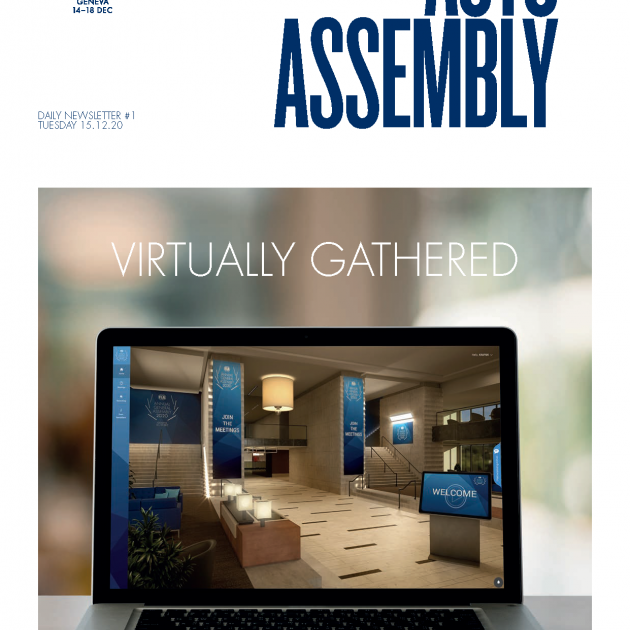 2020 FIA ANNUAL GENERAL ASSEMBLY - NEWSLETTER #1