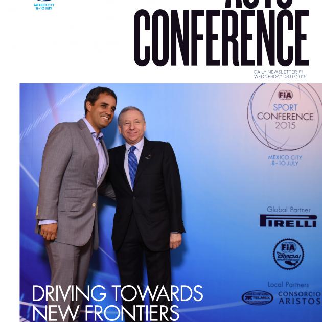 Sport Conference Mexico FIA
