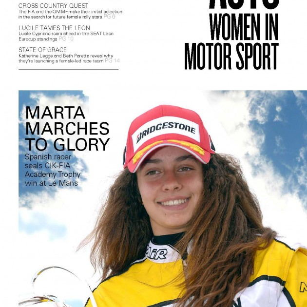 Women In Motorsport Marta Marches