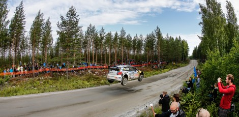 WRC 2015 rally finland day 1