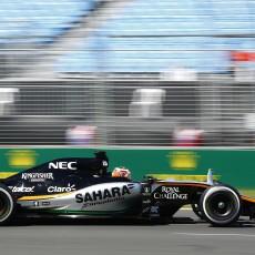 HULKENBERG nico, force india vjm08, 2015 Formula 1 Australian Grand Prix