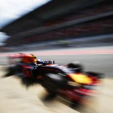 Verstappen F1 Test Day