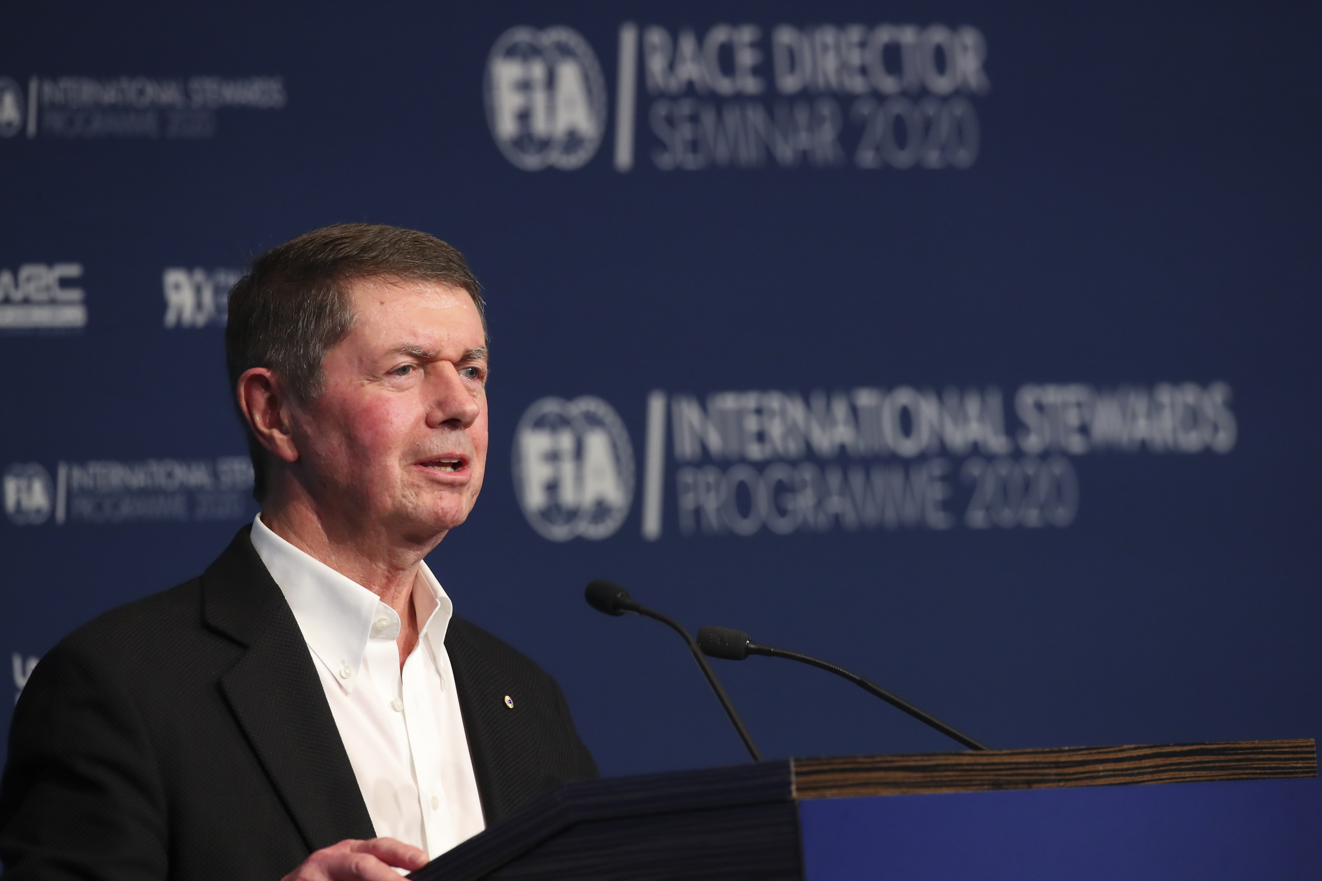 Image result for FIA delegate Garry Connelly