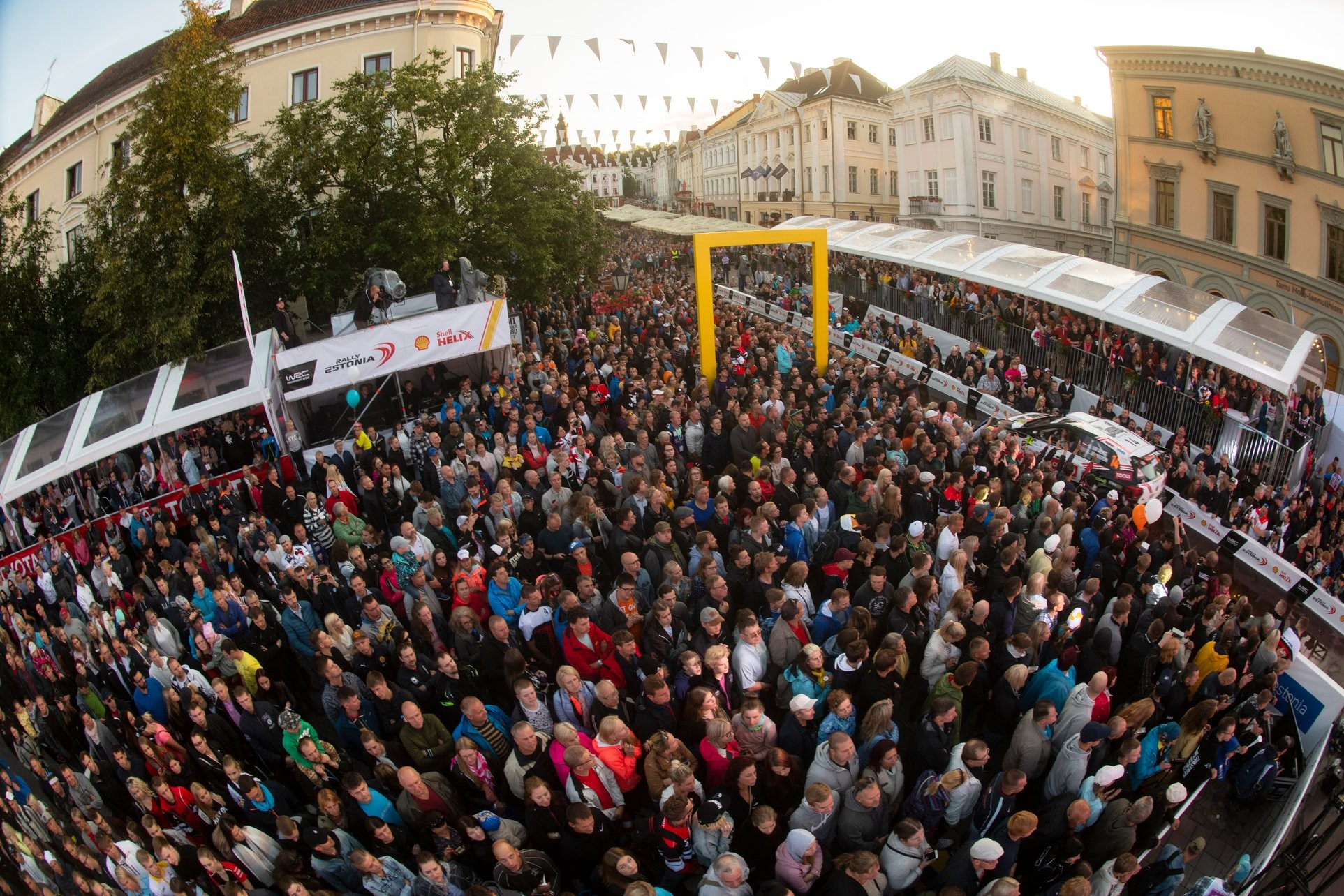 FIA ERT Baltic - Rally Estonia - Spectators