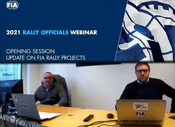 2021 Rally Officials Webinar - FIA Rally Director Yves Matton & Category Manager for Regional Rally Jérôme Roussel