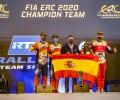 2020 ERC - Rallye Team Spain - FIA ERC 2020 Champion Team